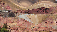 BOLIVIA - PULACAYO (HUANCHACA) MINE<br /> Situated 18 kms from Uyuni in 4100m altitude, Pulacayo was home to the biggest Bolivian silver mine of the 20th century. Today only a few hundred people remain.<br /> <br /> Full size 58,7 MB