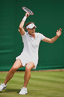 England, London, 24.06.2014. Tennis, Wimbledon, AELTC, Alize Cornet (FRA)<br /> Photo: Tennisimages/Henk Koster