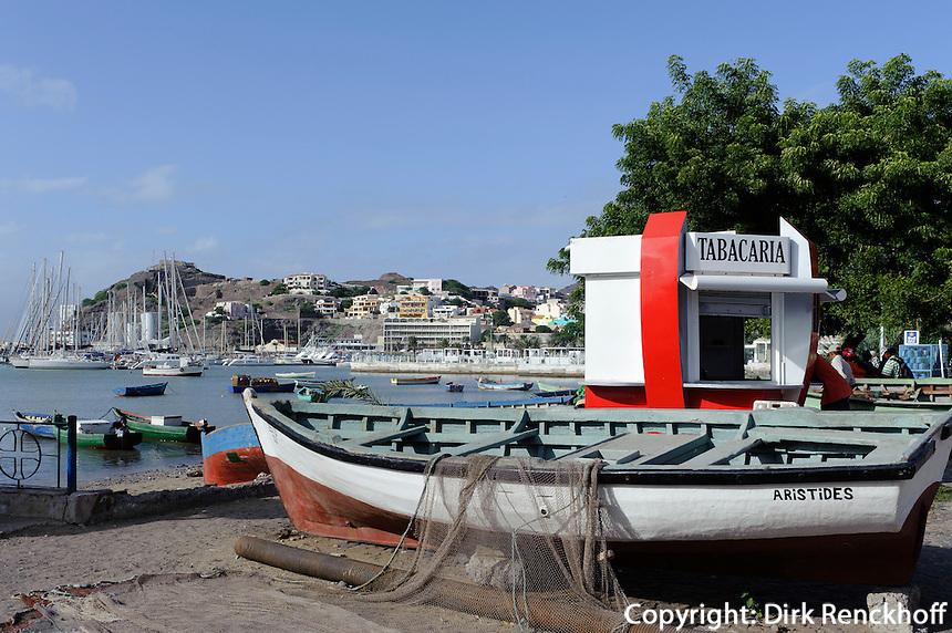 Fischerboote in Mindelo, Sao Vicente, Kapverden, Afrika