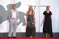 Patrick Kennedy, Susanna Nicchiarelli, Romola Garai, Miss Marx Premiere, 77th Venice Film Festival in Venice, Italy on September 05, 2020. Photo by Ron Crusow/imageSPACE/MediaPunch PUBLICATIONxNOTxINxUSA Copyright: ximageSPACEx <br /> ITALY ONLY