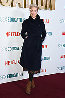 "Hannah Waddington<br /> arriving for the ""Sex Education"" season 2 launch at Genesis Cinema Mile End Road, London.<br /> <br /> ©Ash Knotek  D3547 08/01/2020"