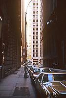 New York: Pine St., Financial District.