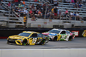 #19: Daniel Suarez, Joe Gibbs Racing, Toyota Camry STANLEY, #18: Kyle Busch, Joe Gibbs Racing, Toyota Camry M&M's White Chocolate