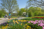 Deutschland, Bayern, Niederbayern, Baederdreieck, Bad Fuessing: Kurpark | Germany, Bavaria, Lower Bavaria, resort Bad Fuessing: spa gardens