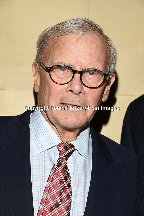 honoree Tom Brokaw attends the Library of American Broadcasting  Annual Giants of Broadcasting Luncheon on October 6, 2016 at Gotham Hall in New York City. <br /> <br /> photo by Robin Platzer/Twin Images<br />  <br /> phone number 212-935-0770