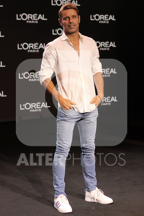 David Ascanio at the L'Oreal Paris anniversary fashion show during the Mercedes Benz Fashion Week Spring/Summer 2020 at Ifema on July 10, 2019 in Madrid, Spain.(ALTERPHOTOS/ItahisaHernadez)