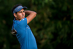 Carlos Pigem of Spain tees off during the 58th UBS Hong Kong Golf Open as part of the European Tour on 09 December 2016, at the Hong Kong Golf Club, Fanling, Hong Kong, China. Photo by Marcio Rodrigo Machado / Power Sport Images