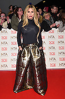 Katie Price<br /> at the National TV Awards 2017 held at the O2 Arena, Greenwich, London.<br /> <br /> <br /> ©Ash Knotek  D3221  25/01/2017