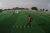Boyd Okwuonu. U.S. Under-17 Men Training  Kano, Nigeria