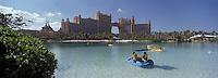 Iles Bahamas / New Providence et Paradise Island / Nassau: Hotel Atlantis à Paradise Island et son parc