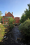 Old woolen mill in North Berwick, Maine, USA