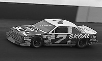Harry Gant competes in  the Busch Series race at Darlington Raceway in Darlington, SC on March 19, 1988. (Photo by Brian Cleary/www.bcpix.com)