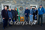 The McCarthy family gather in Lixnaw on Friday at the unveiling a plague to Willie 'Sonny' McCarthy who was born in Lixnaw and was shot in Tralee on March 26th 1921. L to r: Sean McCarthy, Maire and Emma Carroll, Claire, Justin, Eoghan, Caoimhe and Shane McCarthy.