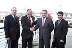 Frank Godfrey and Turkish Visitors