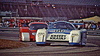The #00 March 83G/Porsche of Sarel van der Merwe, Graham Duxbury and Tony Martin races to victory in the 24 Hours of Daytona, Daytona International Speedway, February 5, 1984.  (Photo by Brian Cleary/www.bcpix.com)