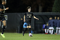 WINSTON-SALEM, NC - DECEMBER 07: Isaiah Parente #15 of Wake Forest University plays the ball during a game between UC Santa Barbara and Wake Forest at W. Dennie Spry Stadium on December 07, 2019 in Winston-Salem, North Carolina.