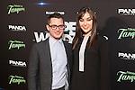 Actor Elijah Wood and actress Sasha Grey attend `Open Windows´new film premiere at Palafox Cinemas in Madrid, Spain. June 30, 2014. (ALTERPHOTOS/Victor Blanco)