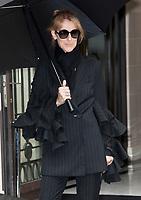 July 1st, 2017 - PARIS, FRANCE : Singer CÈline Dion leaves the Royal Monceau Hotel on Avenue Hoche