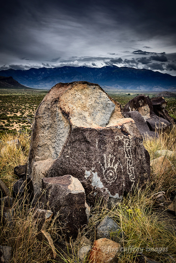 Petroglyphs at Three Rivers Petroglyph Site in New Mexico's Tularosa Basin