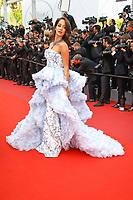 Lana El Sahelysur le tapis rouge pour la projection du film MISE A MORT DU CERF SACRE lors du soixante-dixième (70ème) Festival du Film à Cannes, Palais des Festivals et des Congres, Cannes, Sud de la France, lundi 22 mai 2017. Philippe FARJON / VISUAL Press Agency