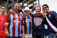 USA and Turkey Fans. The USMNT defeated Turkey, 2-1, at Lincoln Financial Field in Philadelphia, PA.