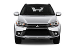 Car photography straight front view of a 2018 Mitsubishi Outlander Sport SEL 5 Door SUV