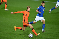 Frenkie de Jong of Netherlands in action during the Uefa Nation A League Group 1 football match between Italy and Netherlands at Atleti azzurri d Italia Stadium in Bergamo (Italy), October, 14, 2020. Photo Andrea Staccioli / Insidefoto