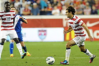 U.S midfielder Graham Zusi (190 in action..USMNT defeated Guatemala 3-1 in World Cup qualifying play at LIVESTRONG Sporting Park, Kansas City, KS.
