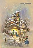 Sue Allison, HOLY FAMILIES, paintings, BRTOCH08565,#XR# Weihnachten, Navidad, illustrations, pinturas