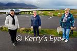 Enjoying a stroll in Lohercannon on Thursday l to r: Kay Courtney, Angela O'Dowd and Eileen Flynn.