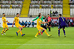 Players of Australia celebrates following their sides win after a penalty shoot-out in the AFC Asian Cup UAE 2019 Round of 16 match between Australia (AUS) and Uzbekistan (UZB) at Khalifa Bin Zayed Stadium on 21 January 2019 in Al Ain, United Arab Emirates. Photo by Marcio Rodrigo Machado / Power Sport Images