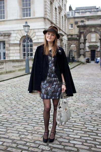 Amber Atherton at London Fashion Week February 2011