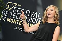 Amélie ETASSE - Photocall 'SCENES DE MENAGE' - 57ème Festival de la Television de Monte-Carlo. Monte-Carlo, Monaco, 17/06/2017. # 57EME FESTIVAL DE LA TELEVISION DE MONTE-CARLO - PHOTOCALL 'SCENES DE MENAGE'