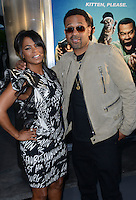Nia Long + Mike Epps @ the premiere of 'Keanu' held @ the Cinerama Dome theatre.<br /> April 27, 2016