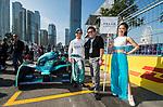 Grid walk of MS & AD Andretti Formula E at the FIA Formula E Hong Kong E-Prix Round 1 at the Central Harbourfront Circuit on 02 December 2017 in Hong Kong, Hong Kong. Photo by Marcio Rodrigo Machado / Power Sport Images