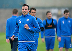 St Johnstone Training…22.07.16<br />Joe Shaughnessy pictured during training this morning at McDiarmid Park ahead of tomorrows Betfred Cup game against Falkirk.<br />Picture by Graeme Hart.<br />Copyright Perthshire Picture Agency<br />Tel: 01738 623350  Mobile: 07990 594431