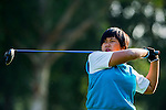 Vivian Lee of Hong Kong in action during the Hyundai China Ladies Open 2014 at World Cup Course in Mission Hills Shenzhen on December 13 2014, in Shenzhen, China. Photo by Li Man Yuen / Power Sport Images