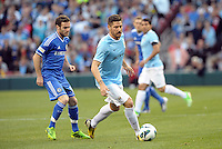 Avi Garcia, Manchester City in action..Manchester City defeated Chelsea 4-3 in an international friendly at Busch Stadium, St Louis, Missouri.