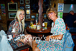 Enjoying the evening in Tatler Jacks in Killarney on Saturday, l to r: Janet Egan (Glin) and Tina Geary (Ballyhahill).