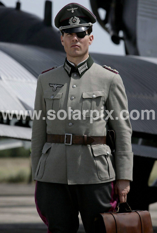 **ALL ROUND PICTURES FROM SOLARPIX.COM** **SYNDICATION RIGHTS FOR UK AND SPAIN ONLY** Tom Cruise on the set of his latest film ''Rubikon' (former title 'Valkyrie').Scenes from the film had to be re shot this weekend After a technical fault in the developing of the film ..The film 'Valkyrie' tells about the life of Claus SchenkGraf vonStauffenberg (15.11.1907 - 21.07.1944), who had been executed on 20th of July in 1944 after his abortive assassination against dictator Adolf Hitler. This Pic:Tom Crusie.JOB REF:  5045        CPR        DATE:14.10.07.**MUST CREDIT SOLARPIX.COM OR DOUBLE FEE WILL BE CHARGED* *UNDER NO CIRCUMSTANCES IS THIS IMAGE TO BE REPRODUCED FOR ANY ONLINE EDITION WITHOUT PRIOR PERMISSION*
