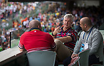 Guest attends the HKRFU VIP's Box during the Cathay Pacific / HSBC Hong Kong Sevens at the Hong Kong Stadium on 28 March 2015 in Hong Kong, China. Photo by Jerome Favre  / Power Sport Images