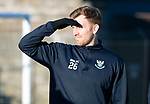 St Johnstone Training…28.12.18    McDiarmid Park<br />Liam Craig pictured during training this morning ahead of tomorrow's game at Dundee.<br />Picture by Graeme Hart.<br />Copyright Perthshire Picture Agency<br />Tel: 01738 623350  Mobile: 07990 594431