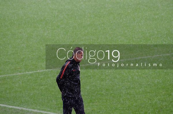 São Paulo (SP), 07/03/2021 - CORINTHIANS-PONTE PRETA - Vagner Mancini, técnico dp Corinthians. Corinthians e Ponte Preta partida válida pela terceira rodada do Campeonato Paulista 2021, na Neo Química Arena, neste domingo (07).
