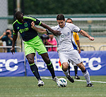 Aegon Ajax All Stars plays HKFC Veterans during the HKFC Citibank International Soccer Sevens at the Hong Kong Football Club on 26 May 2013 in Hong Kong, China. Photo by Victor Fraile / The Power of Sport Images