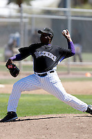 Isaiah Froneberger - Colorado Rockies - 2009 spring training.Photo by:  Bill Mitchell/Four Seam Images