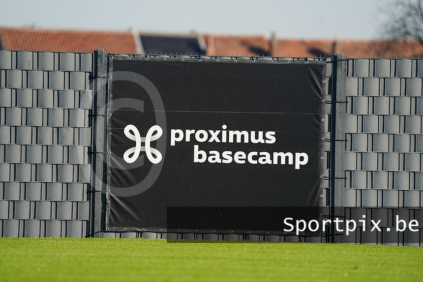 20200911 - TUBIZE , Belgium : during the training session of the Belgian Women's National Team, Red Flames ahead of the Women's Euro Qualifier match against Switzerland, on the 28th of November 2020 at Proximus Basecamp. PHOTO: SEVIL OKTEM | SPORTPIX.BE
