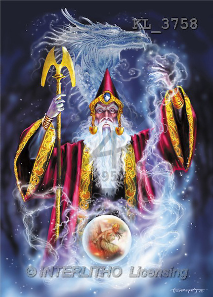 Interlitho, Lorenzo, FANTASY, paintings, magician, ball, KL, KL3758,#fantasy# illustrations, pinturas, magician, mystic
