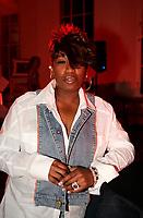 May 2005 file Photo - Missy Elliott and her bubblegum