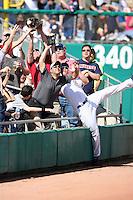 Tyler Colvin. Chicago Cubs spring training game vs. Arizona Diamondbacks at Hohokam Stadium, Mesa, AZ - 03/05/2010.Photo by:  Bill Mitchell/Four Seam Images.