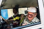 Father Laborde during his visit to Ekpranta Nagar school in Howrah. West Bengal, India, Arindam Mukherjee/Agency Genesis